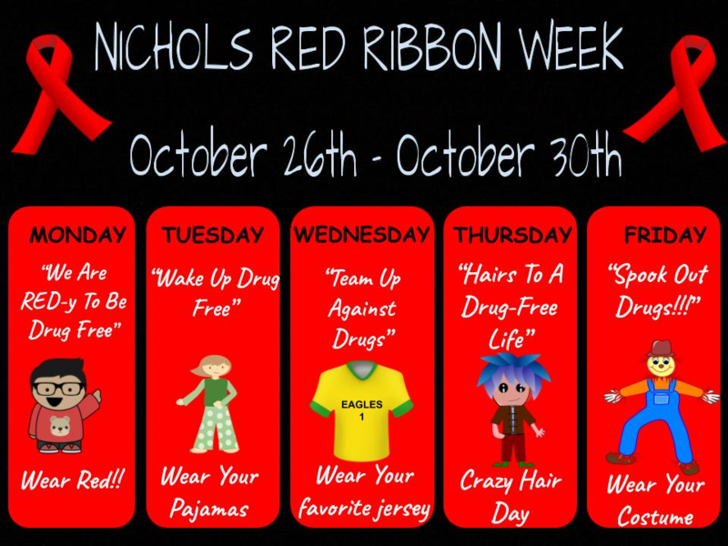 Red Ribbon Week starts 10/26 Featured Photo