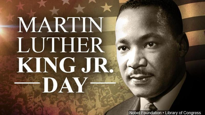 Student Holiday Monday, January 20th in Observance of MLK Day! Thumbnail Image