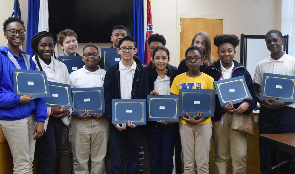 District Students Recognized for 18-19 Test Scores