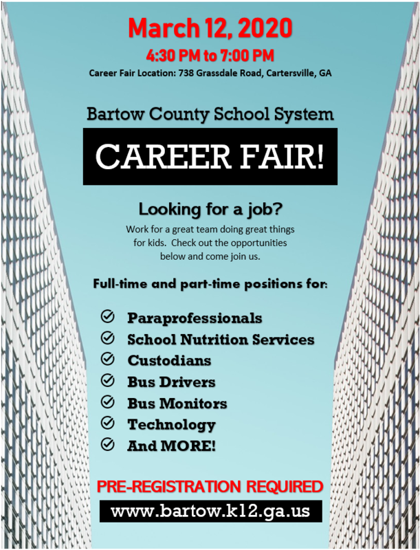 Classified Career Fair Flyer