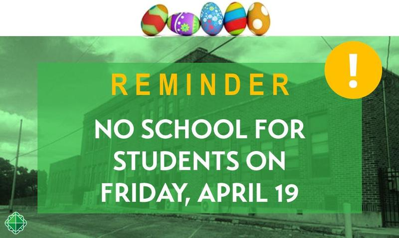 Friday, April 19th, is a School Holiday for BCISD Students! Thumbnail Image