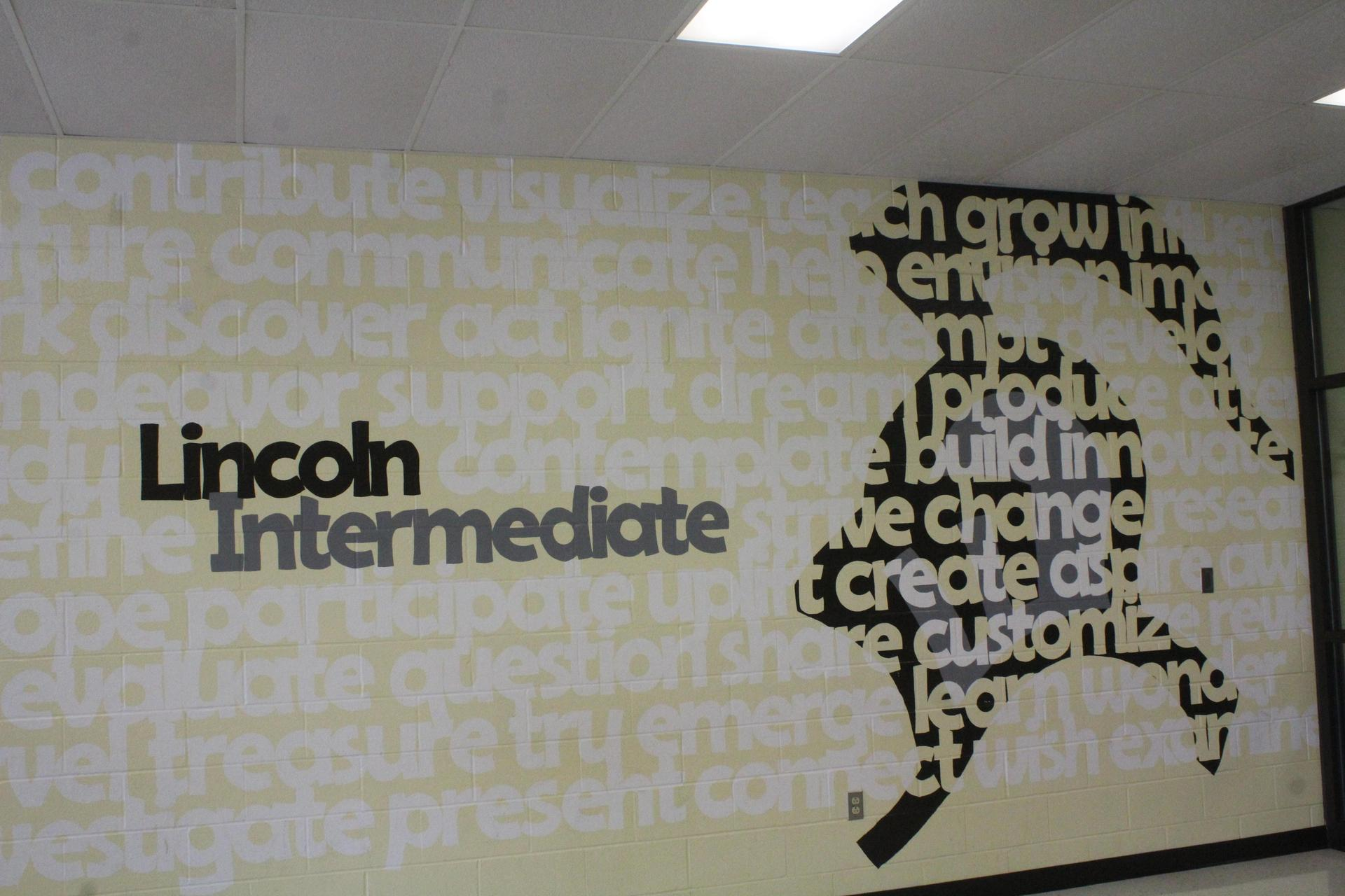 Lincoln Intermediate Wall Mural