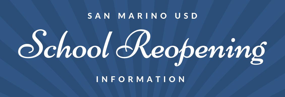 Reopening Information