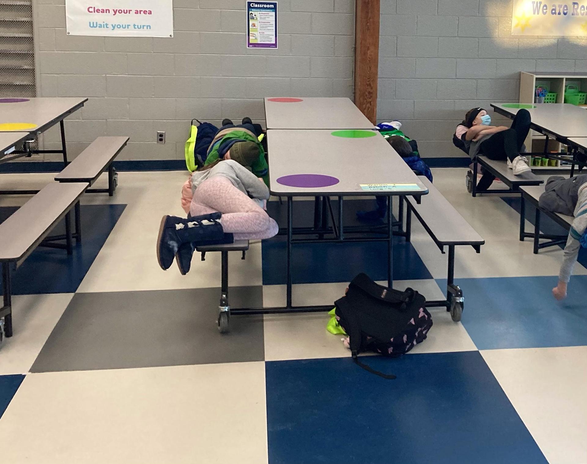 Kids' Club rest time