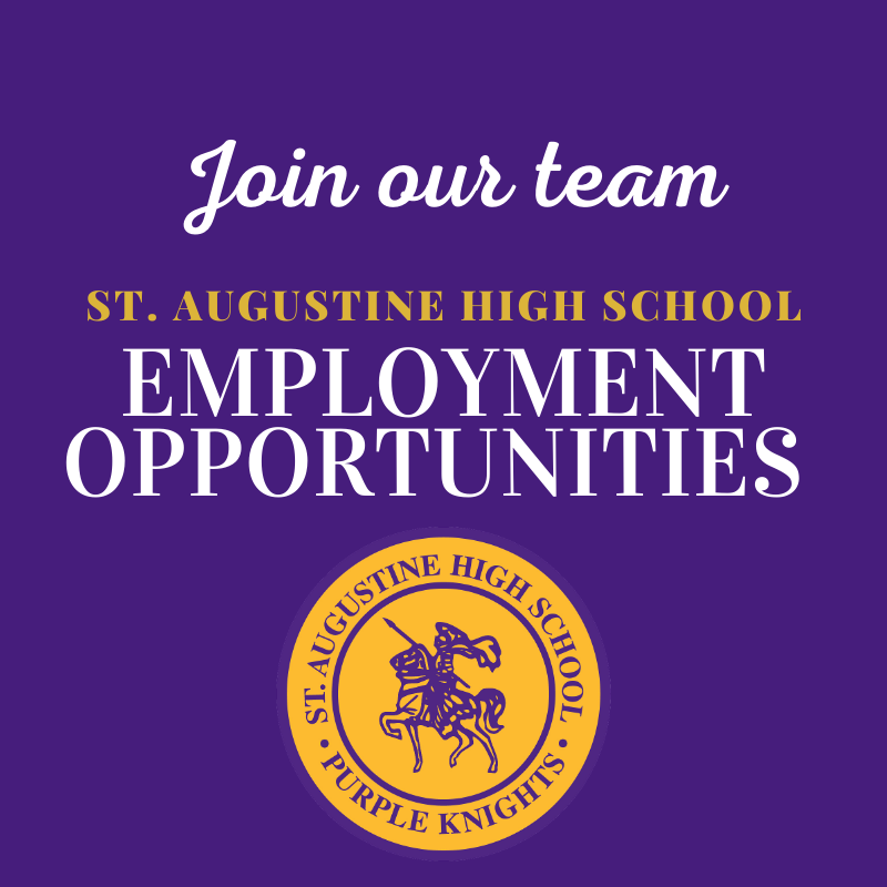 Join the St. Augustine High School Faculty Featured Photo