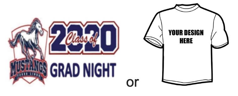 Grad Night Shirt Contest