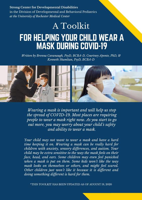 A Toolkit for Helping Your Child Wear a Mask Featured Photo