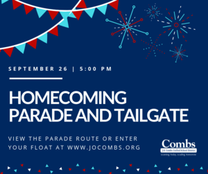 Homecoming Parade and Tailgate