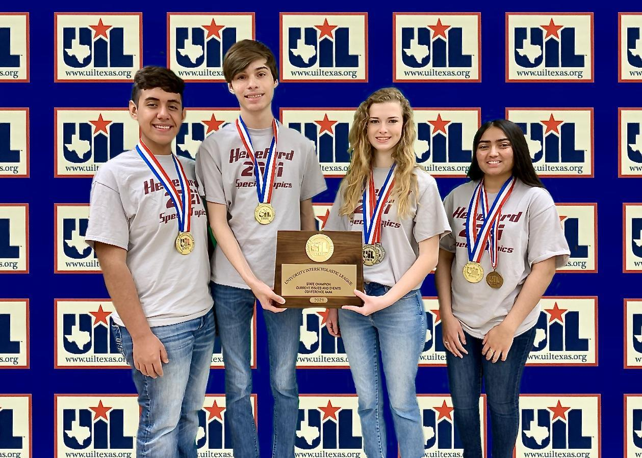 UIL Current Events Champions 2021