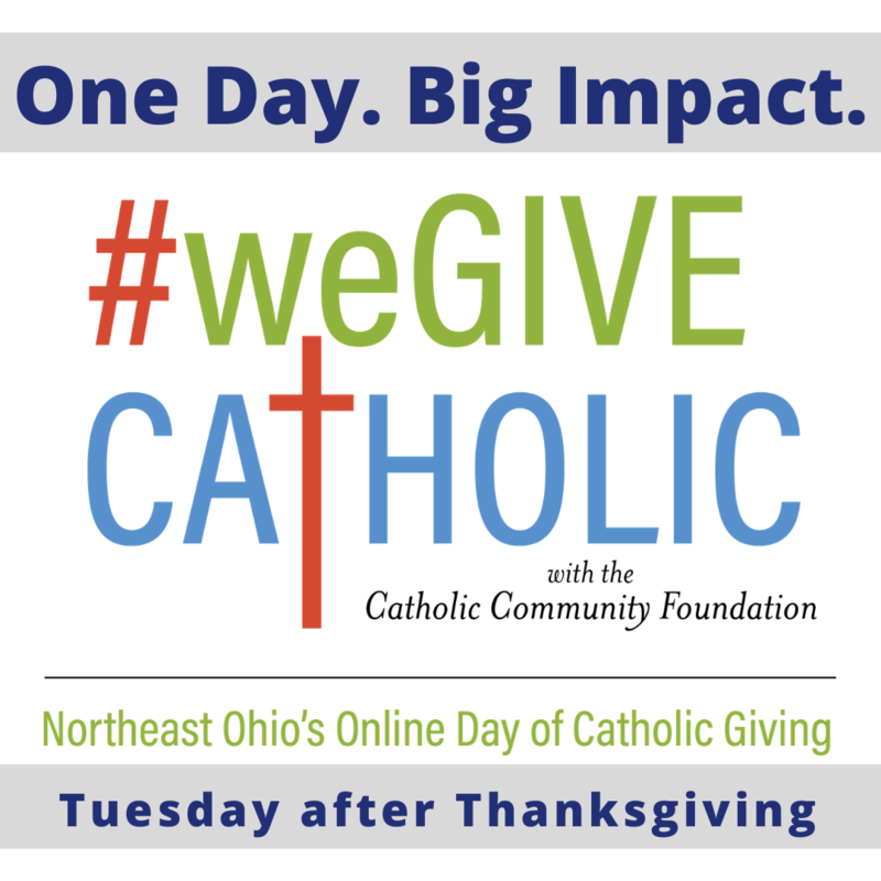 We Give Catholic on Giving Tuesday--December 1st Featured Photo