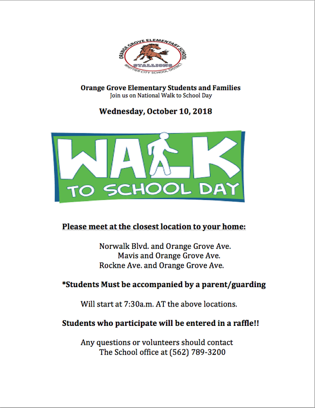 Join us for National Walk to School Day! Featured Photo