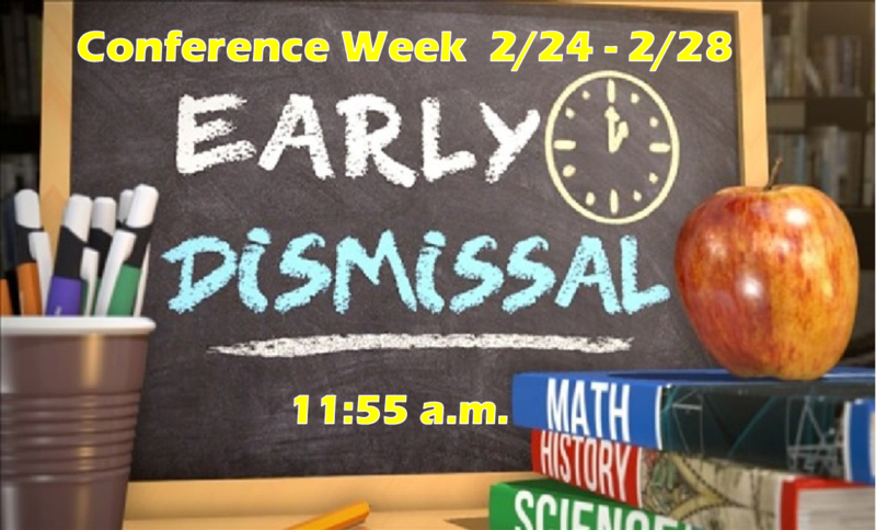 Early Dismissal for Conference Week Featured Photo