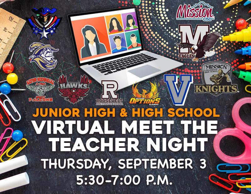 Virtual Meet the Teacher Night - Middle School and High School Featured Photo