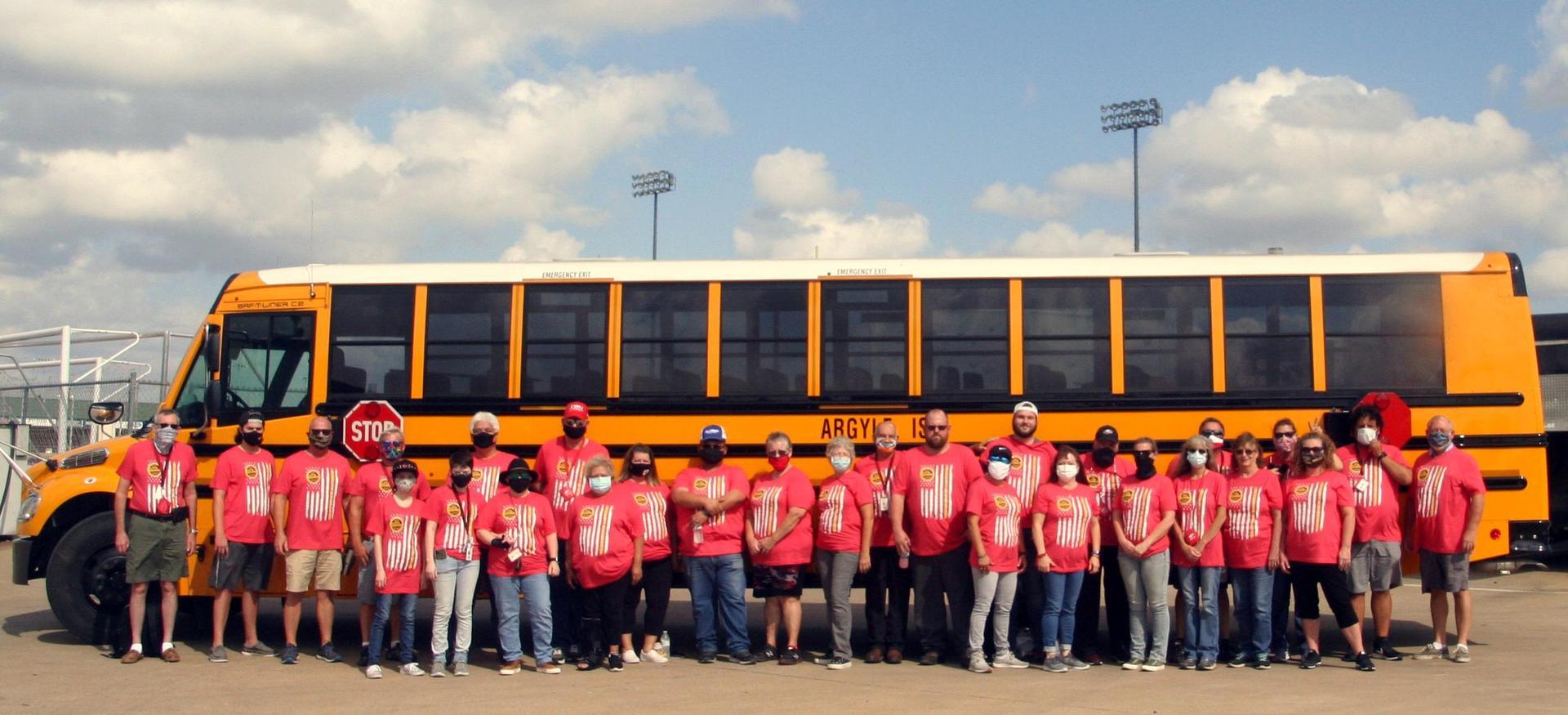 Transportation group photo