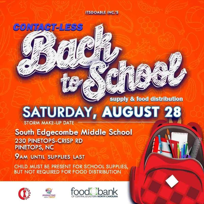 School Supplies and Food Drive Featured Photo