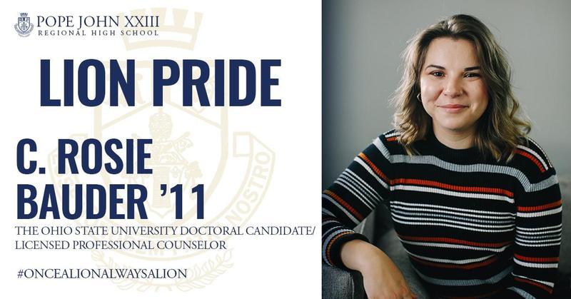 Rosie Bauder Lion Pride