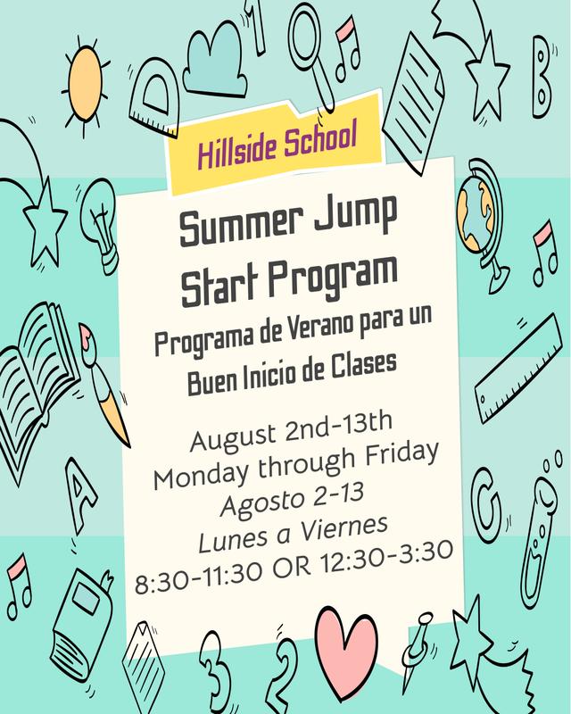Summer Jump Start - Programa de Verano para un Buen Inicio de Clases