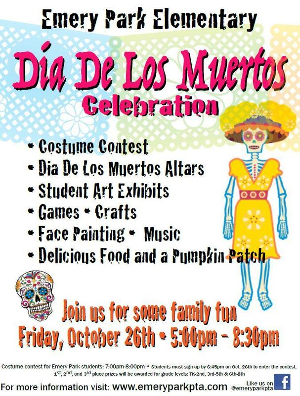JOIN US AT THIS YEAR'S DIA DE LOS MUERTOS (DAY OF THE DEAD) CELEBRATION! A FUN TIME FOR THE WHOLE FAMILY! Featured Photo