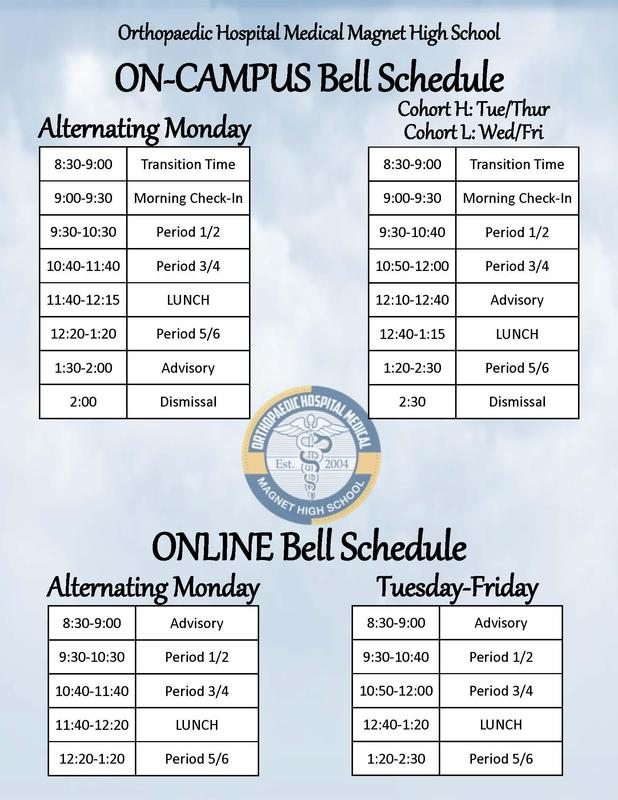 Updated Bell Schedule Featured Photo