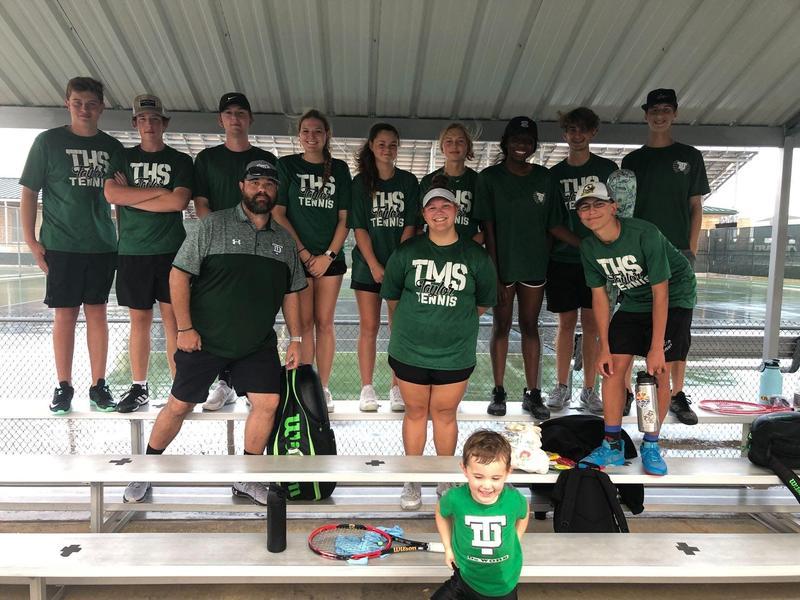 Taylor ISD tennis playoffs