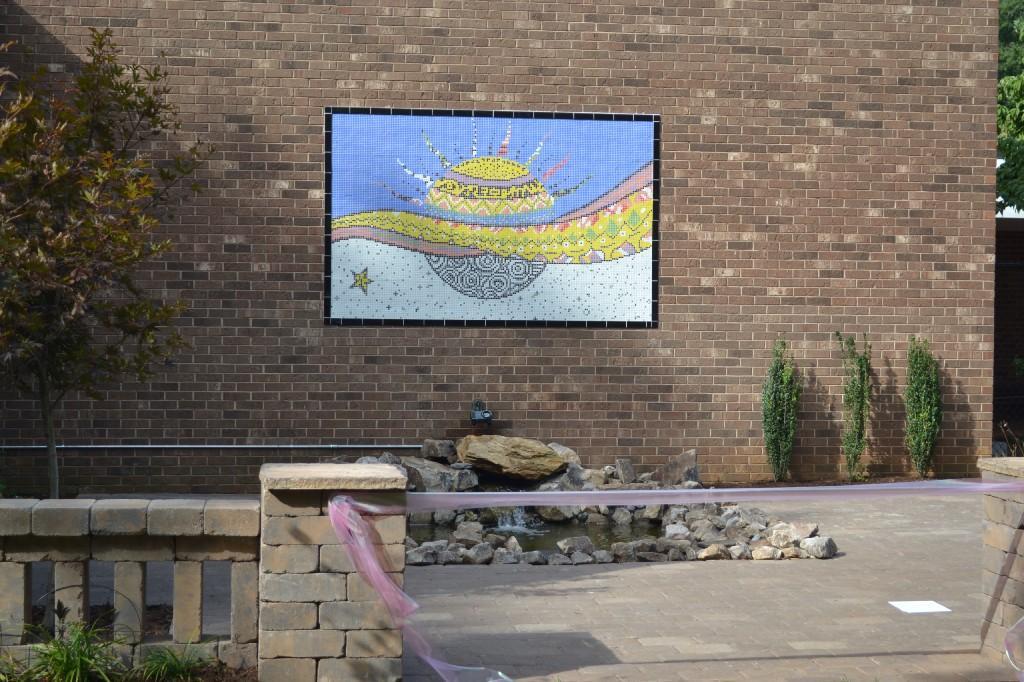Mural in Maggies Garden