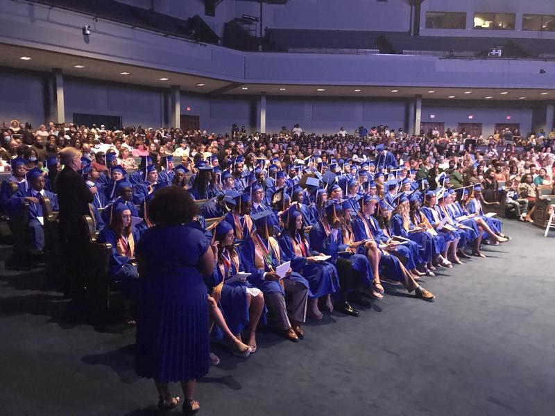 Southeast High Class of 2021 Group Graduation Photo