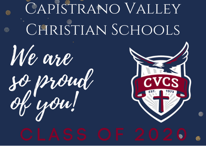 CAPISTRANO VALLEY CHRISTIAN SCHOOLS BRINGS PERSONAL GRADUATION CEREMONY TO EACH SENIOR IN PRIVATE COMMENCEMENT CEREMONY Featured Photo