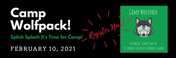 Register for Camp Wolfpack Today! Featured Photo