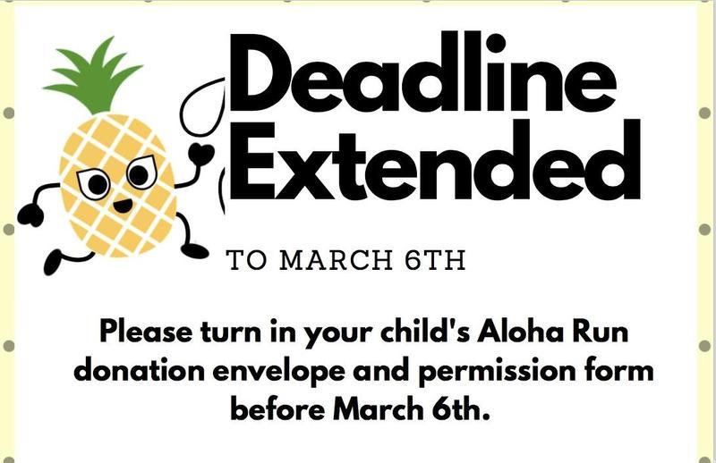 ALOHA RUN-Deadline Extended Featured Photo