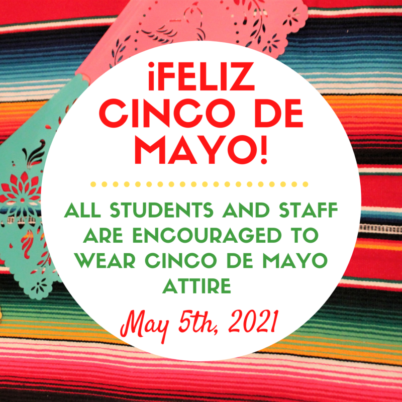 Cinco de Mayo - May 5th, 2021