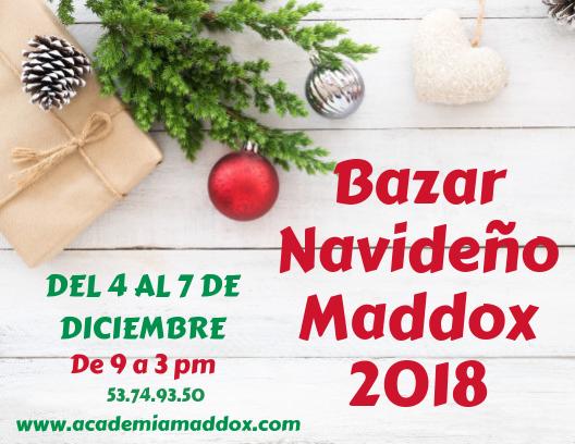 Bazar Navideño Maddox 2018 Featured Photo