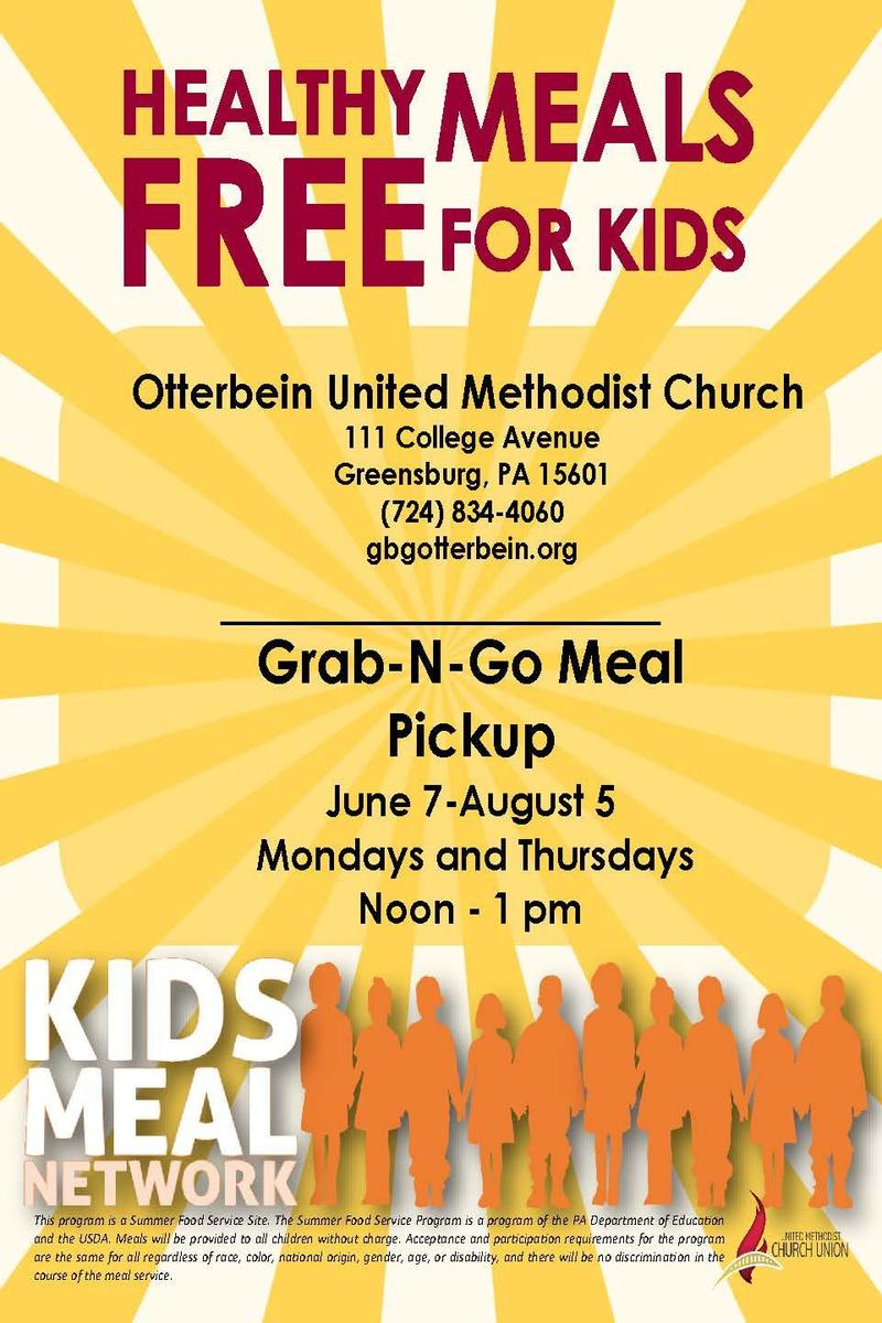 Otterbein Free Meals For Kids