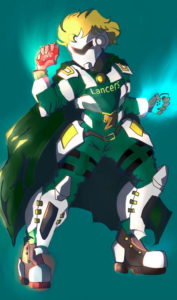 LHS eSports Mascot