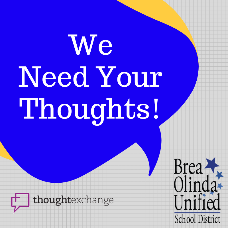 We need your thoughts
