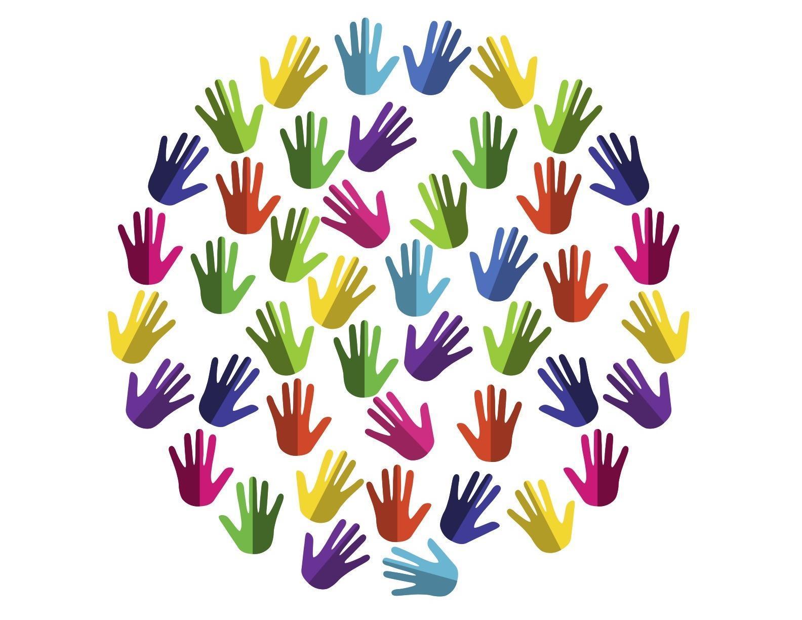 Race & Equity Hands Logo
