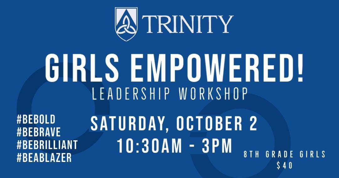 Trinity Girls Empowered Workshop