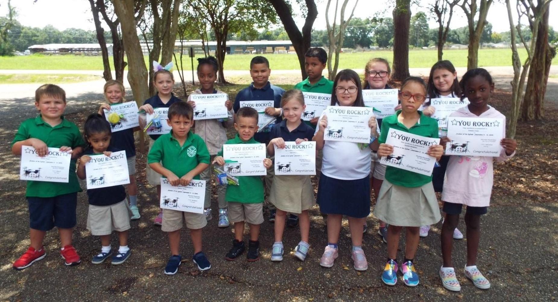 Student of the Week September 9 -13, 2019