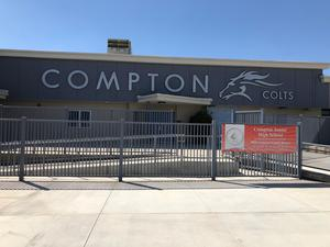front of Compton JH