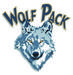 Wapato High School Wolf Head Logo
