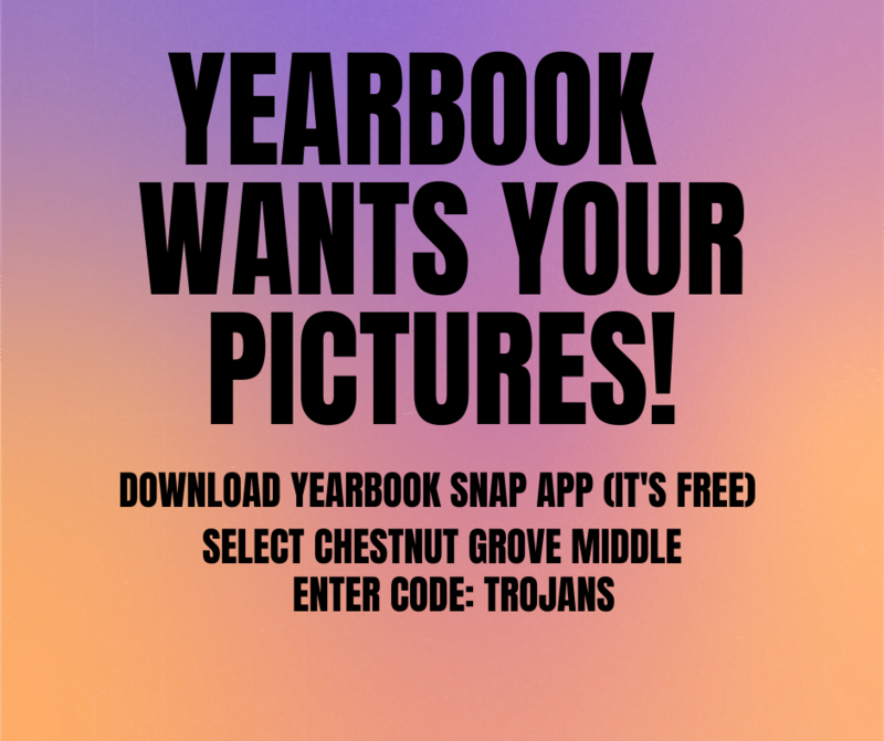 Yearbook wants your pictures!