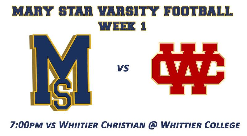 Week 1 Final: MSHS 56 @ Whittier Christian 9 Featured Photo