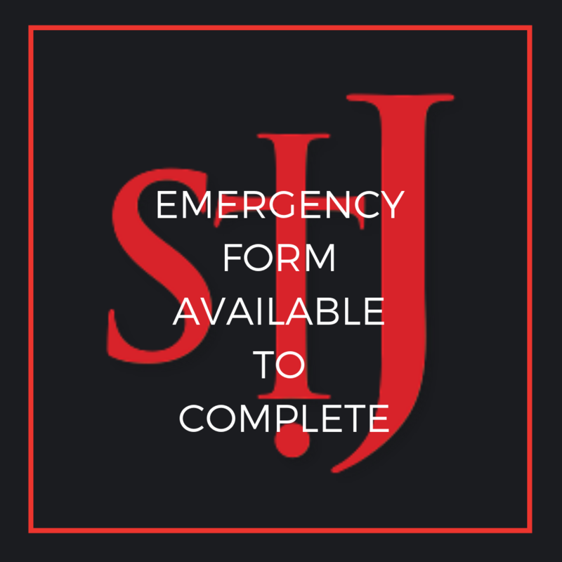 Emergency Form available Featured Photo