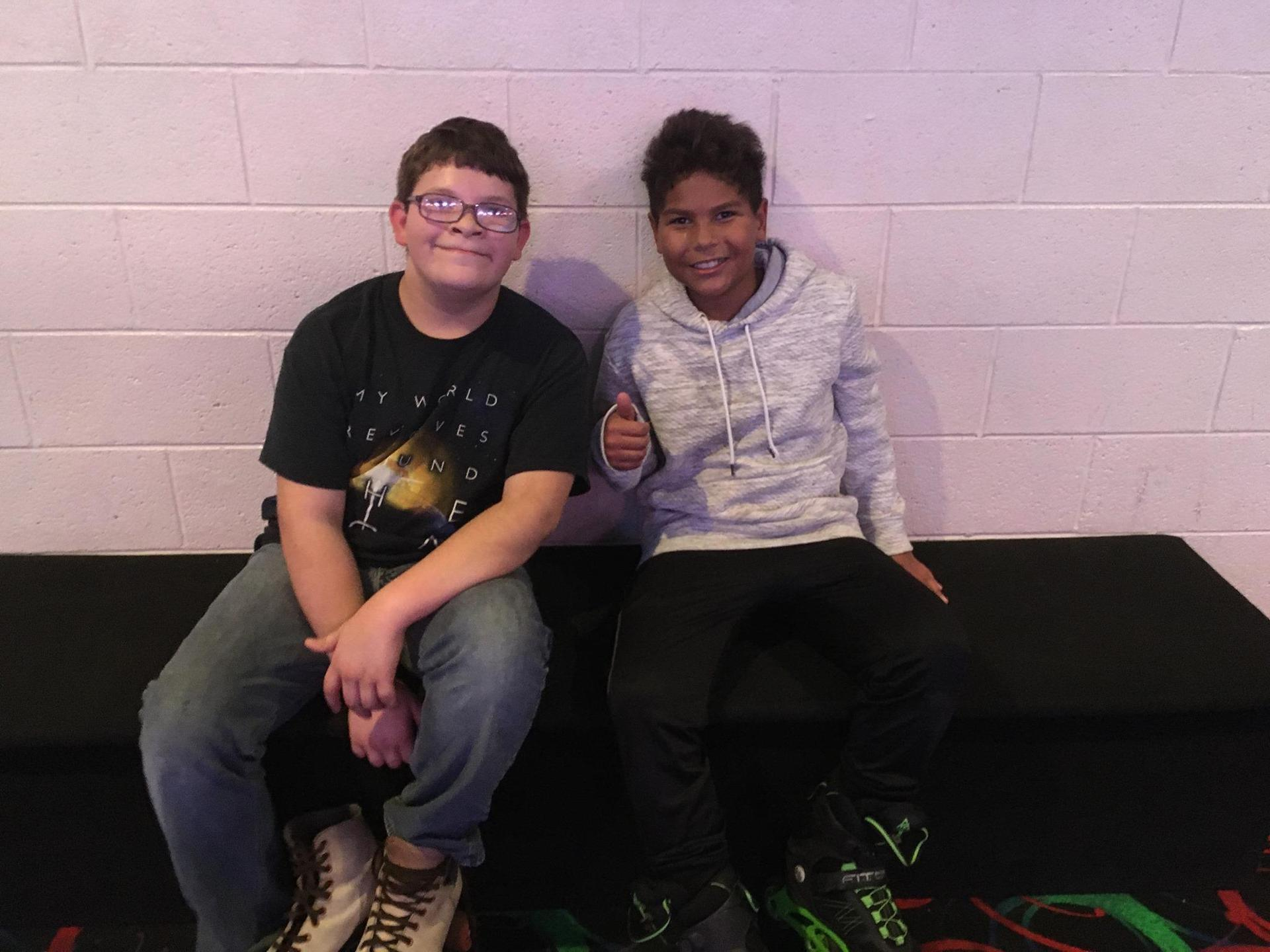 Kids at Great Skate - November 2019