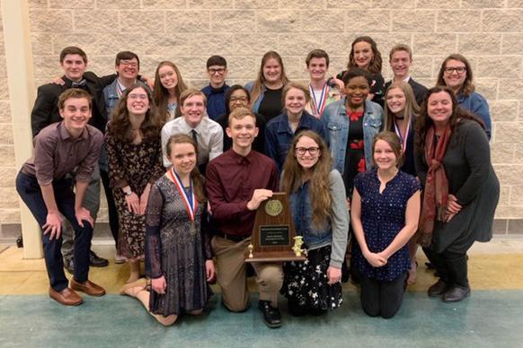 CHS One Act Play District Award