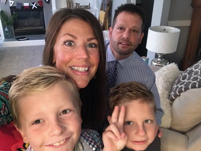My Family: John, Rowan, Grady