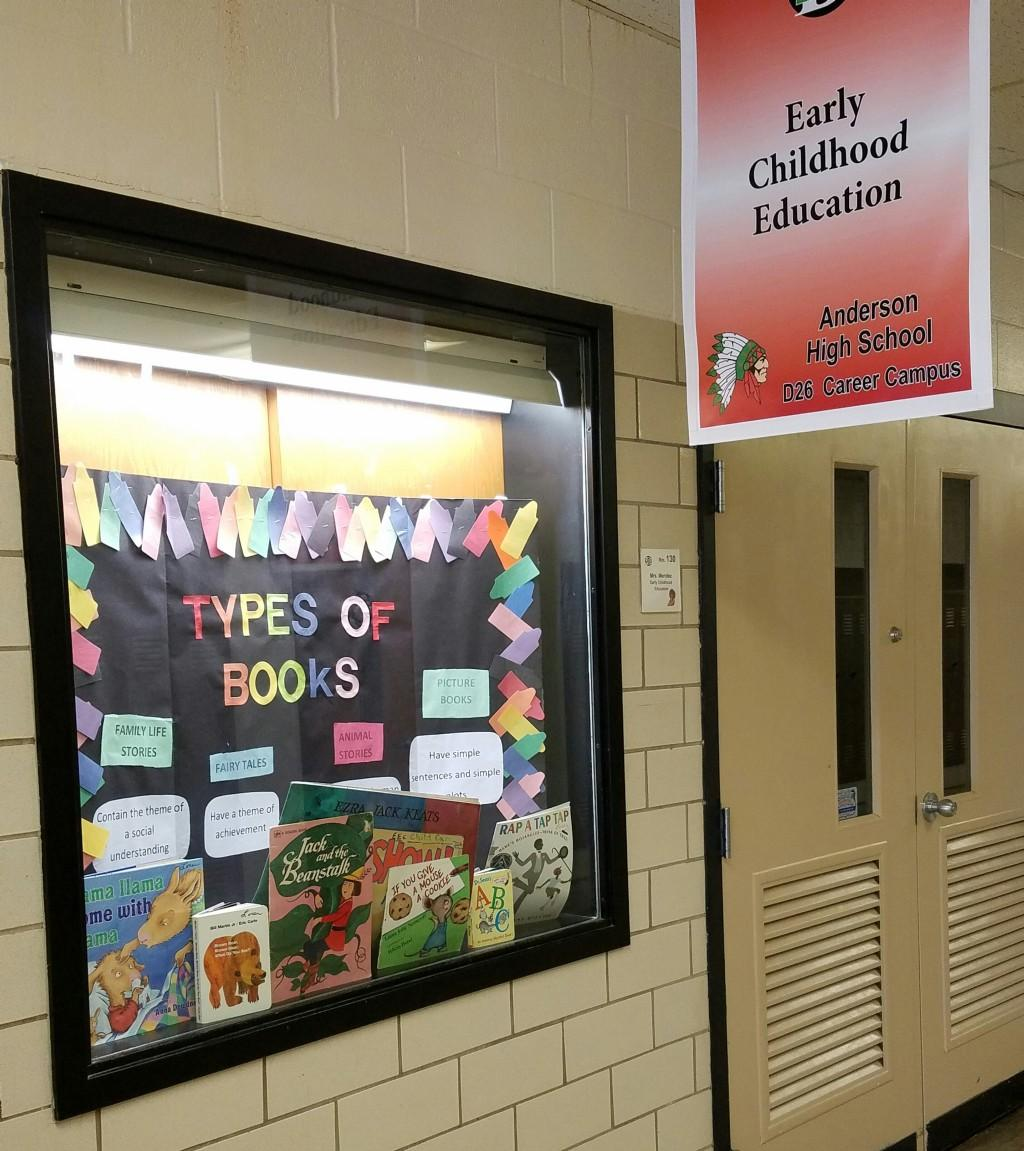 Early Childhood Education display window