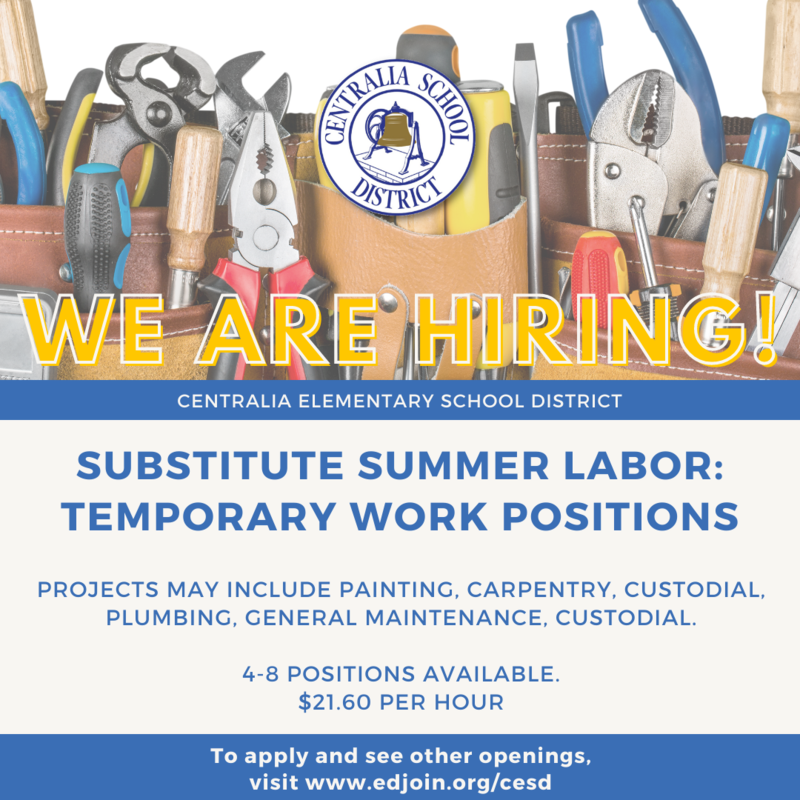 CESD is Now Hiring!