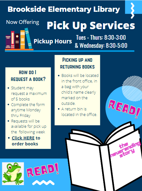 Library Pick Up Service