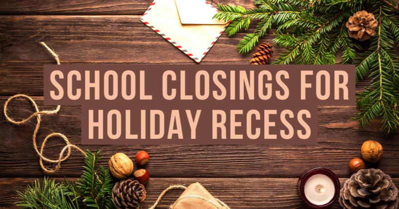 Holiday Recess