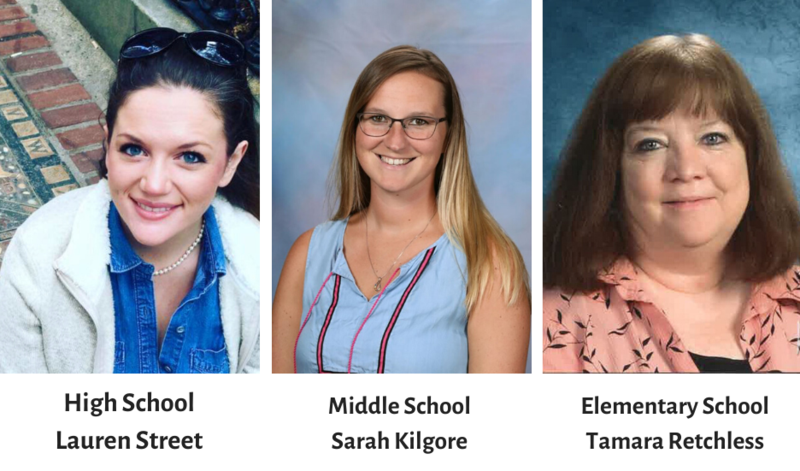 The 2019-2020 District Wide Teachers of the Year